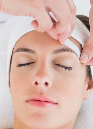 eyebrow waxing strips