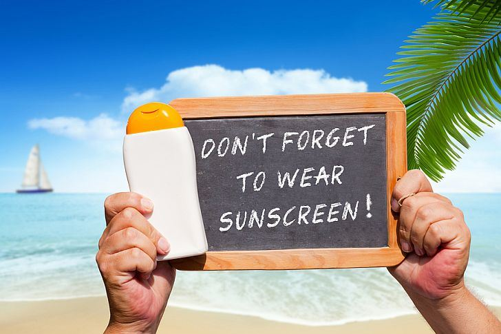 Don't Forget To Wear Sunscreen in Summer