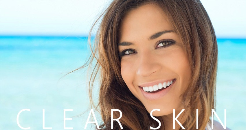 Get Clear Skin in Summer